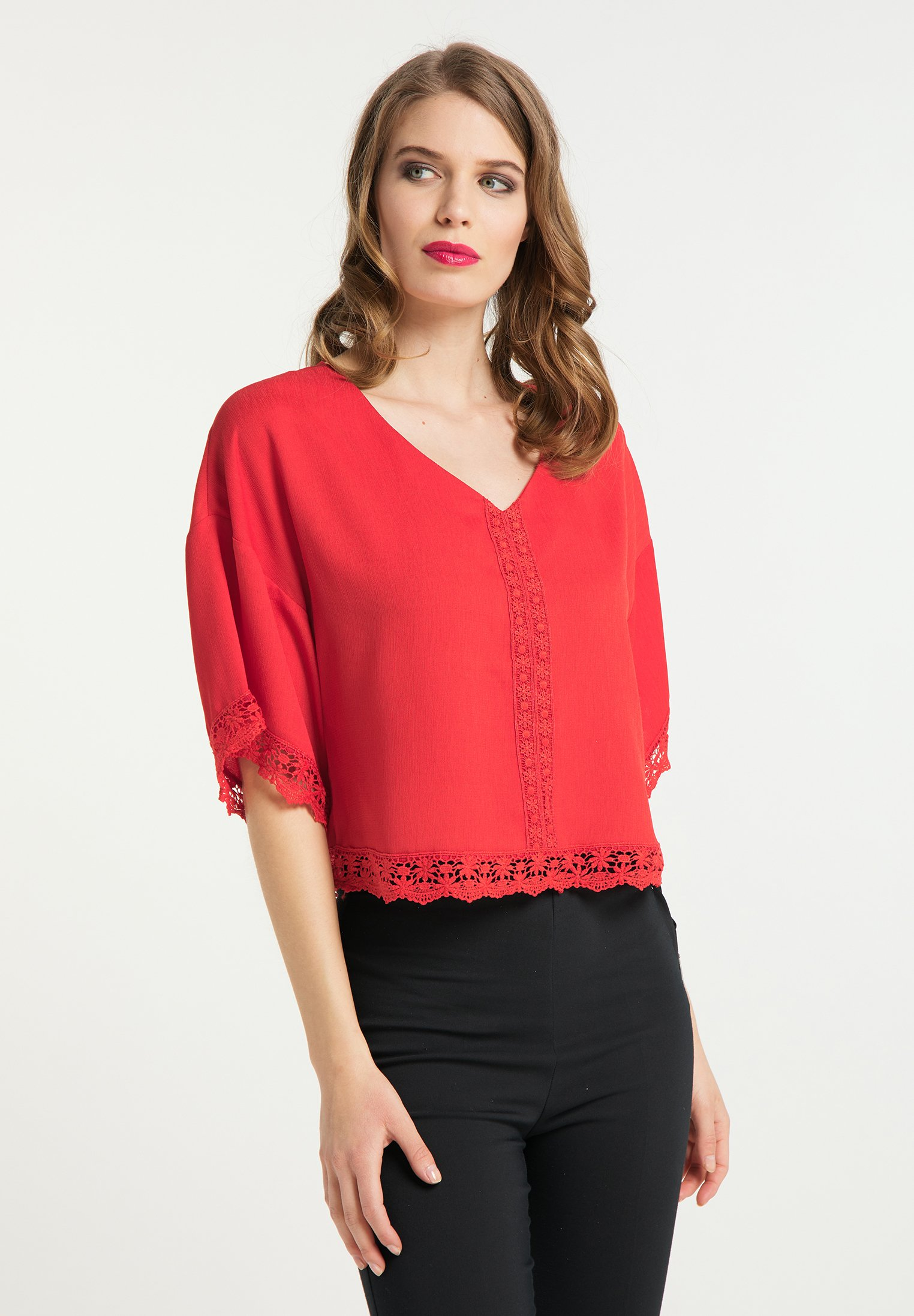 Latest Collections Women's Clothing faina Blouse rot OOgoguexm
