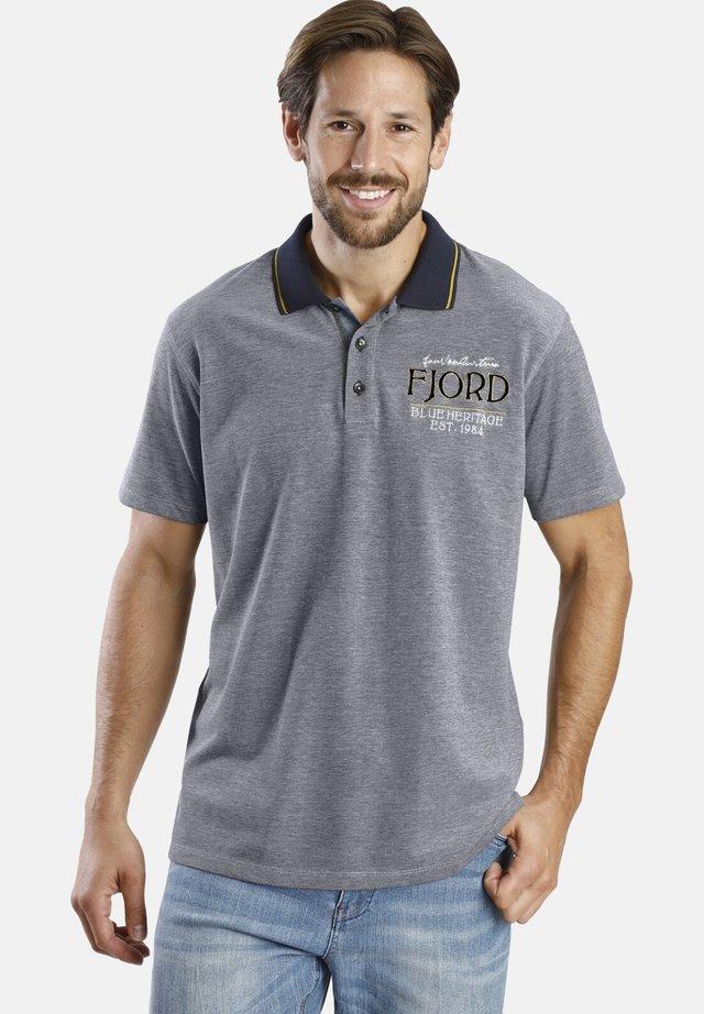 KAISO - Polo shirt - blau melange