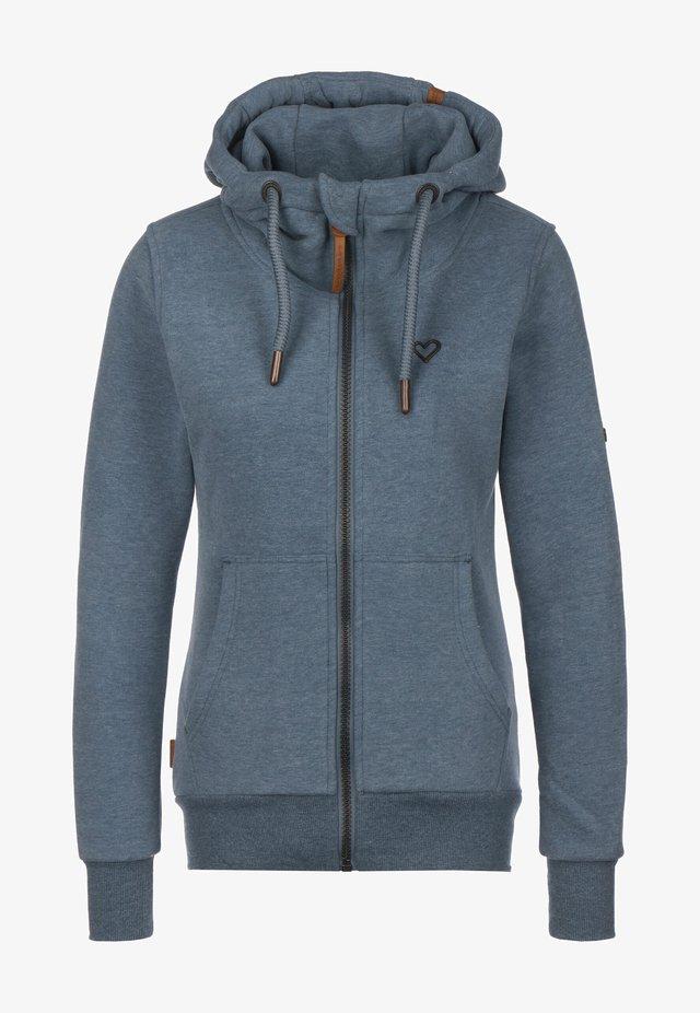 Zip-up hoodie - frozen