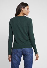 GAP - SLIM CREW CARDI - Cardigan - mountain teal - 2