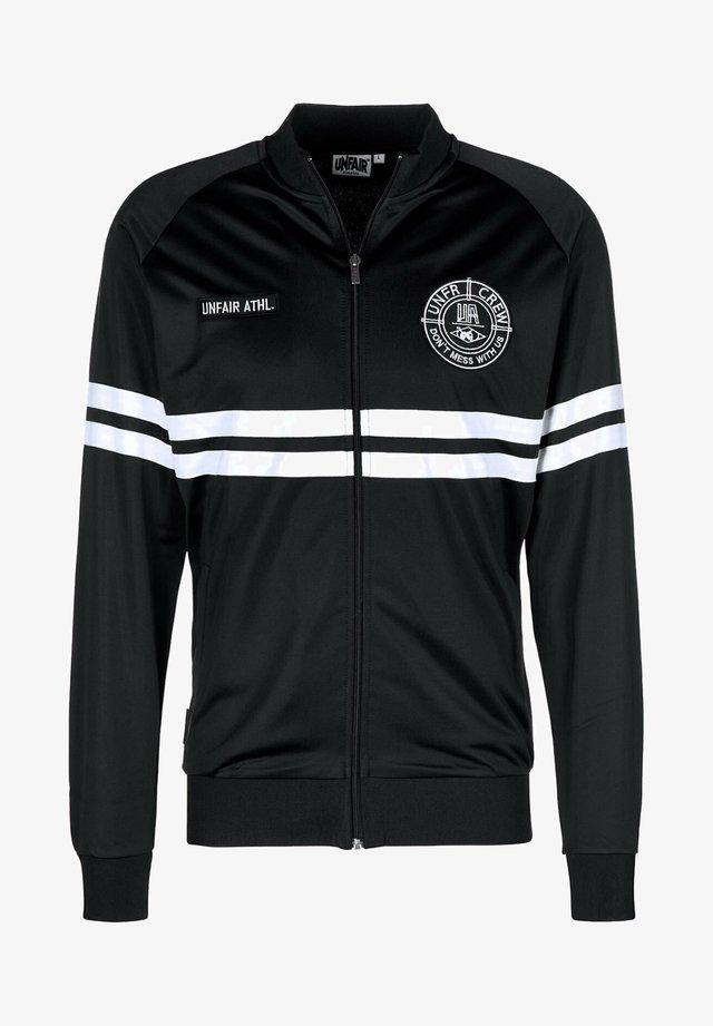 DMWU - Training jacket - black/white