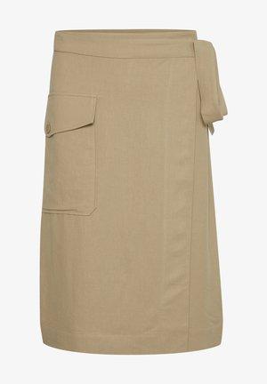 Wrap skirt - beige