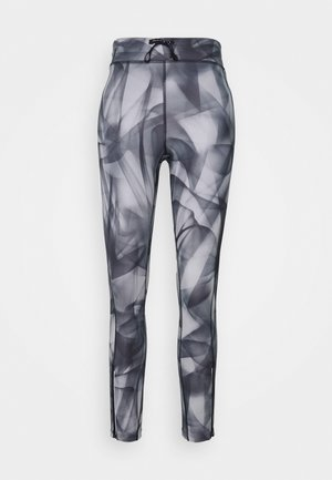 RUN 7/8 - Legging - black/silver