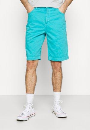 STRAIGHT - Shorts - dark aqua