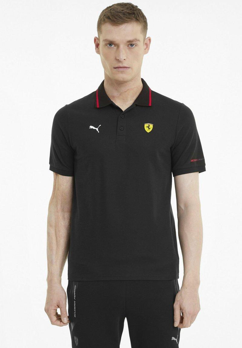 Puma - FERRARI RACE - Polo shirt - puma black