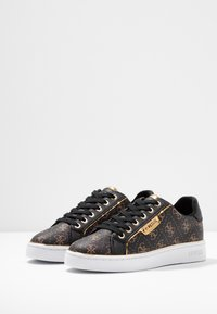 Guess - BANQ - Sneakers laag - bronze/black - 4