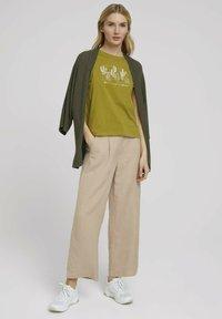 TOM TAILOR - Print T-shirt - gecko green - 1
