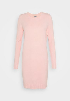 NMPENNY O NECK DRESS - Strikket kjole - english rose