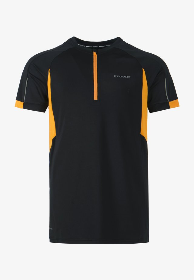 JENCHER M BIKE - Print T-shirt -  black