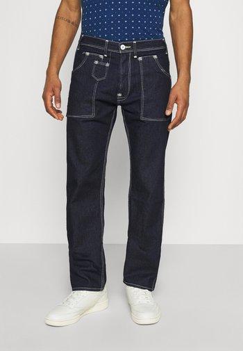 505 UTILITY UNISEX - Relaxed fit jeans - dark indigo flat finish