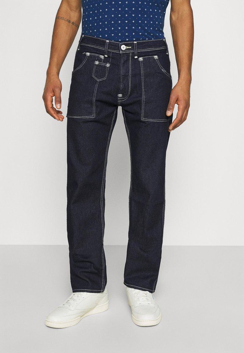Levi's® - 505 UTILITY UNISEX - Jeans baggy - dark indigo flat finish