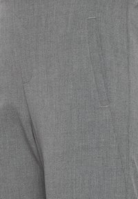 PULZ - PXVICTORIA SPECIAL FAIR OFFER - Trousers - medium grey melange - 6