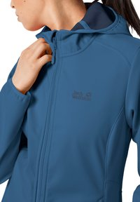 Jack Wolfskin - NORTHERN POINT WOMEN - Soft shell jacket - indigo blue - 2