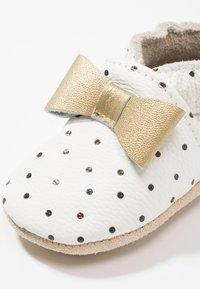 Rose et Chocolat - POLKA DOT - First shoes - white - 2