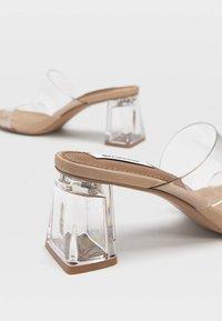 Stradivarius - High Heel Sandalette - nude - 3