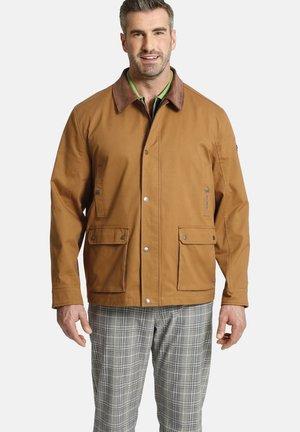 HAMILTON - Summer jacket - hellbraun