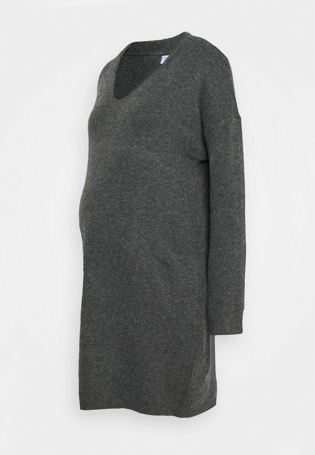 PCMSTAR NECK  - Neulemekko - dark grey melange