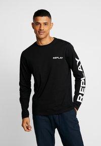 Replay - Maglietta a manica lunga - black - 0