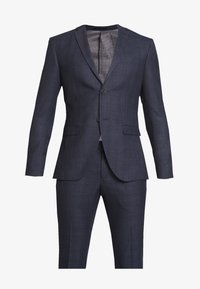 Isaac Dewhirst - CHECK SUIT - Suit - dark blue - 8