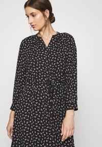 Selected Femme - SLFDAMINA  DRESS  - Skjortekjole - black - 3