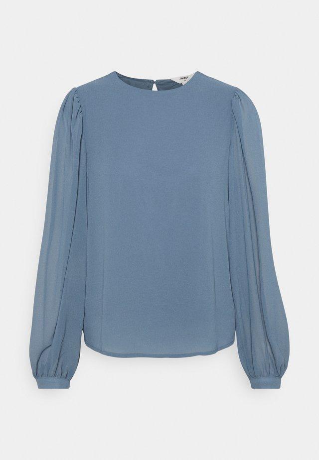 OBJMILA - Long sleeved top - blue mirage
