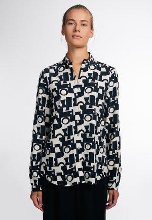 MODERN CLASSIC - Button-down blouse - beige/braun