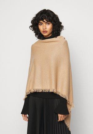 Poncho - camel