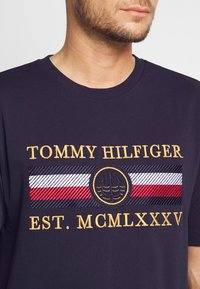Tommy Hilfiger - ICON  - Print T-shirt - blue - 3