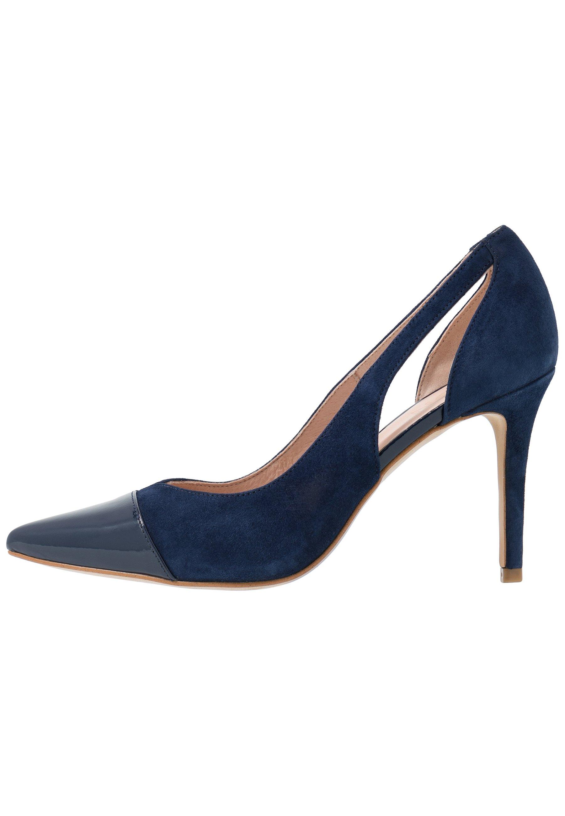 High Heel Pumps royal blue