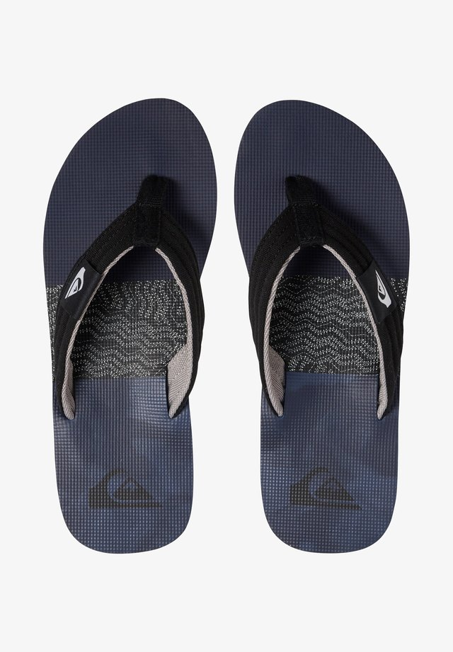 MOLOKAI LAYBACK - Tongs - black/grey/blue