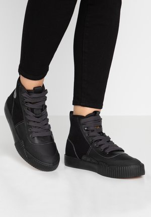 PARTA MID - High-top trainers - black