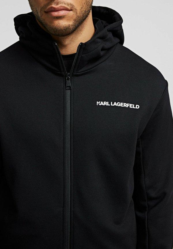 KARL LAGERFELD Bluza rozpinana - black/czarny Odzież Męska LVCM