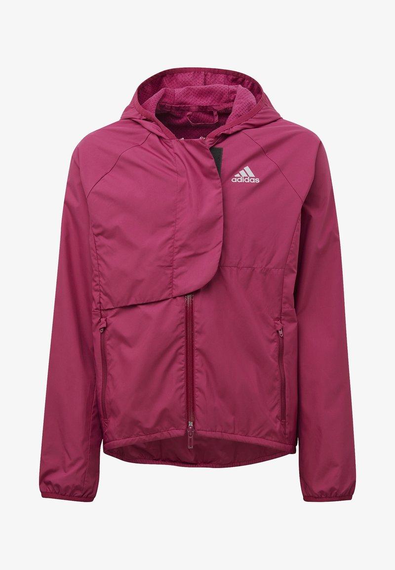 adidas Performance - G W.RDY WB - Training jacket - berry