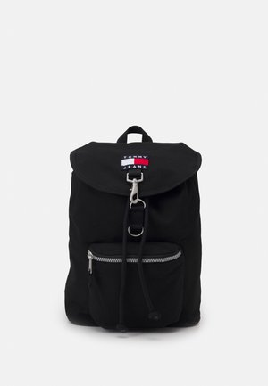 HERITAGE FLAP BACKPACK UNISEX - Plecak - black