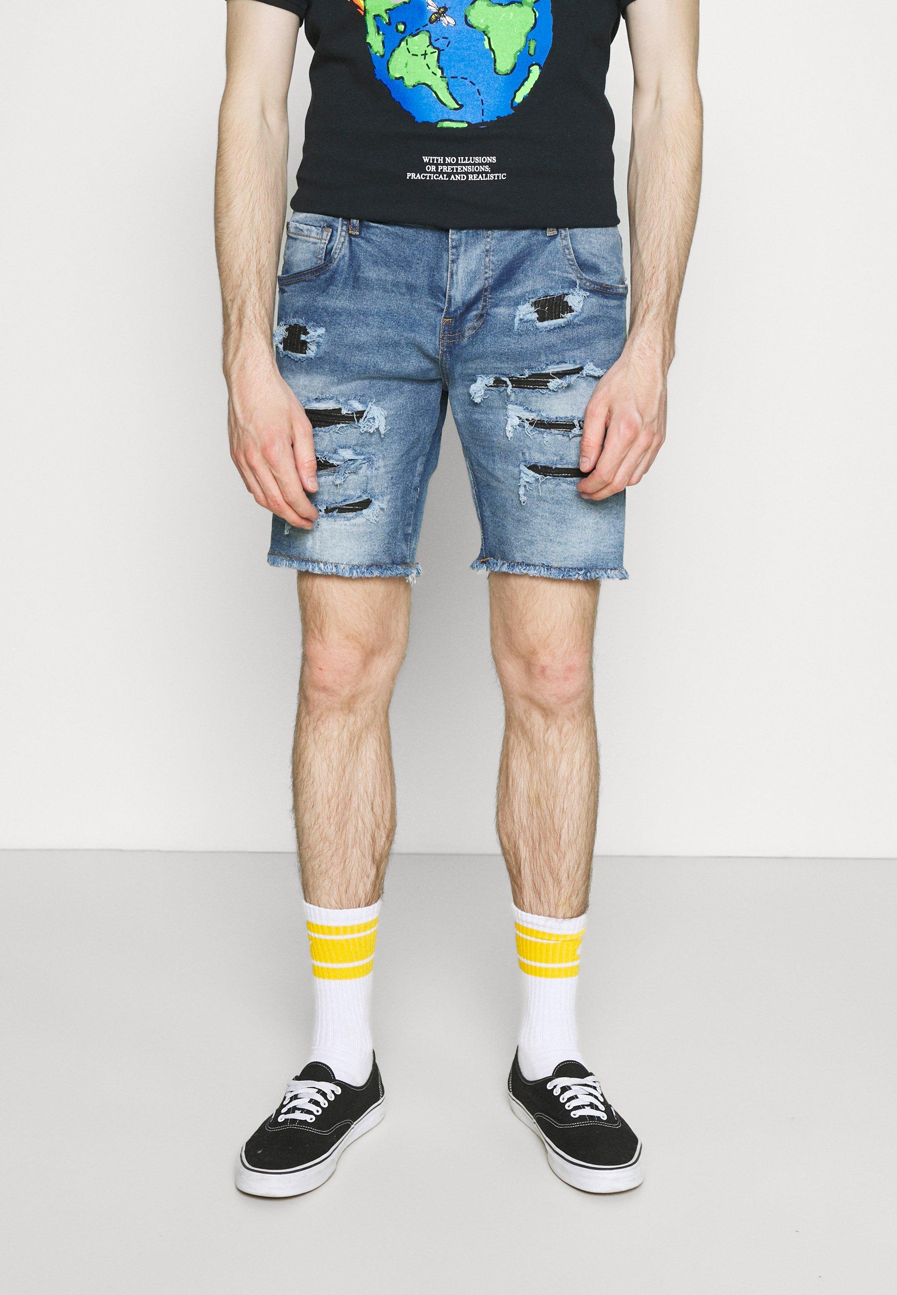 Hombre NAJAXSON - Shorts vaqueros