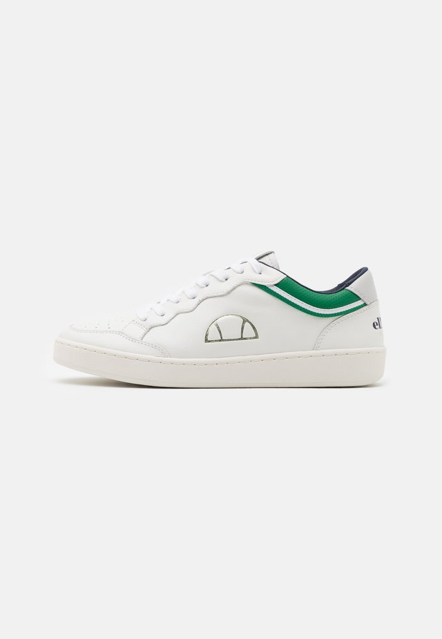 LS ARCHIVIUM - Sneakers laag - white/green