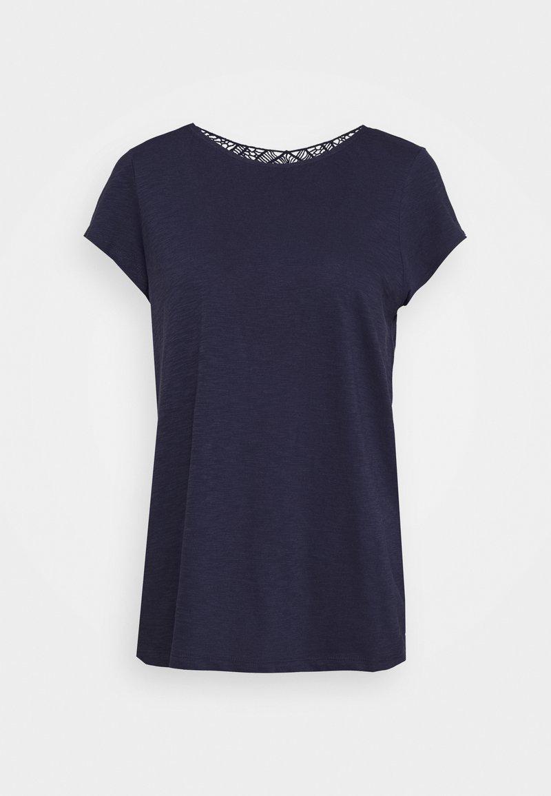s.Oliver - Basic T-shirt - dark steel blue
