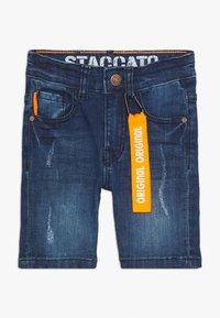 Staccato - BERMUDAS KID - Jeansshort - mid blue denim - 0