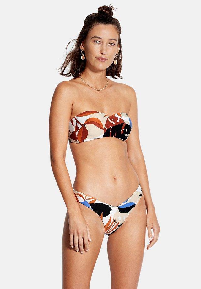 IN THE JUNGLE BUSTIER  - Bikini - chocolate