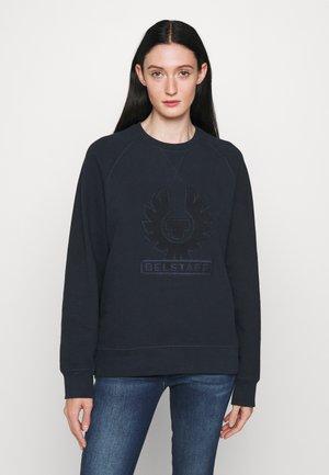 PHOENIX LOOP BACK CREW NECK - Sweater - dark ink