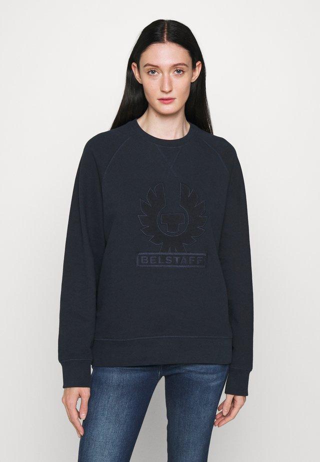 PHOENIX LOOP BACK CREW NECK - Sweatshirt - dark ink