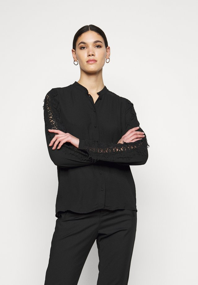 VMZIGGA LACE TALL - Blouse - black