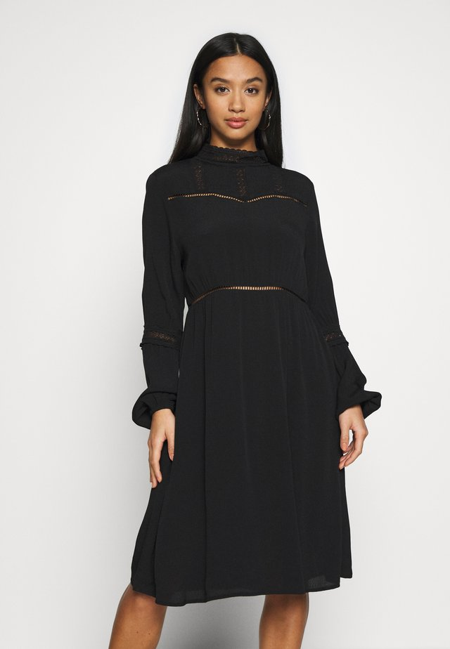 OBJSIFKA DRESS - Sukienka letnia - black