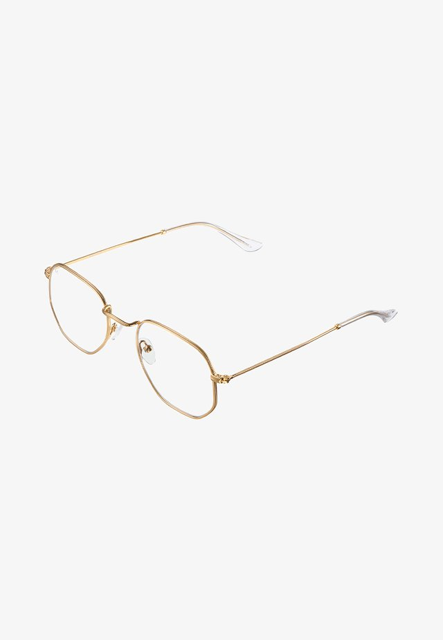 EYASI BLUE LIGHT - Sunglasses - gold