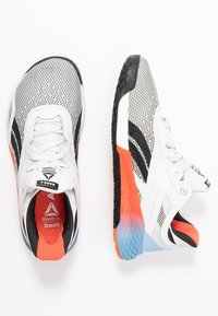 Reebok - NANO X - Treningssko - white/blue/vivid orange - 1