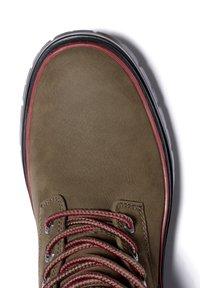 Timberland - MALYNN MID LACE EK+ WP - Lace-up boots - olive nubuck - 5