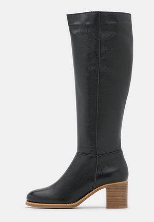 LEATHER  - Støvler - black
