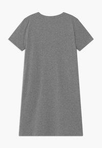Nike Sportswear - FUTURA DRESS - Vestito di maglina - carbon heather/arctic pink - 1