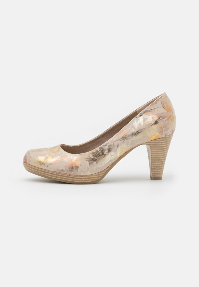 COURT SHOE - Plateaupumps - dune