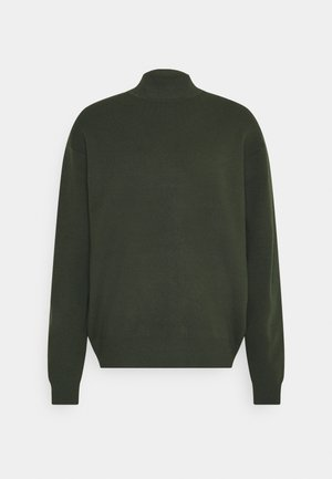 GUNA TURTLE NECK - Jumper - kambu green